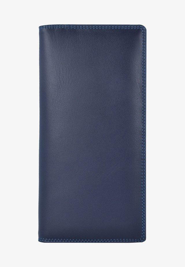 Portefeuille - mottled dark blue