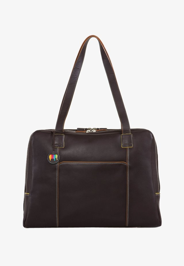 LARGE OFFICE ORGANISER - Briefcase - brown