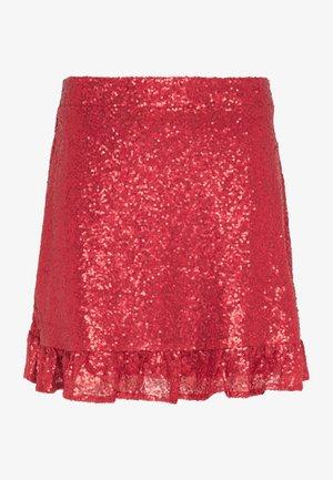 Áčková sukně - rot