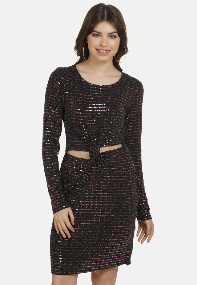Sukienka koktajlowa - flieder