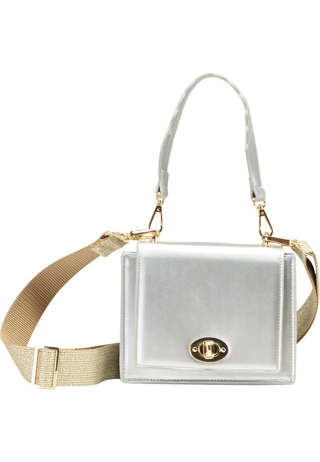Handväska - silber metallic