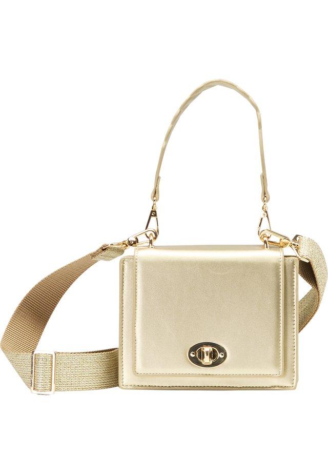 Handväska - gold metallic