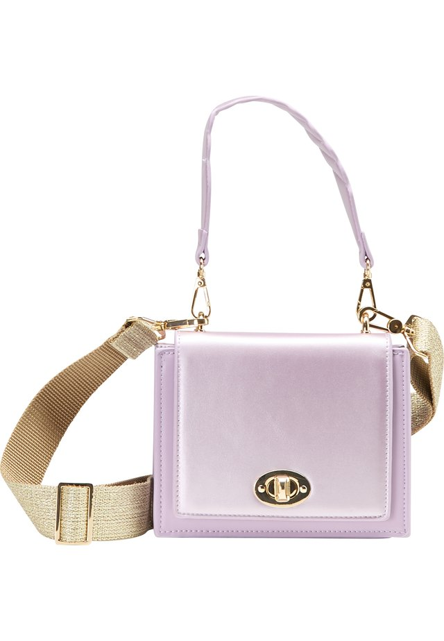 Handbag - flieder metallic