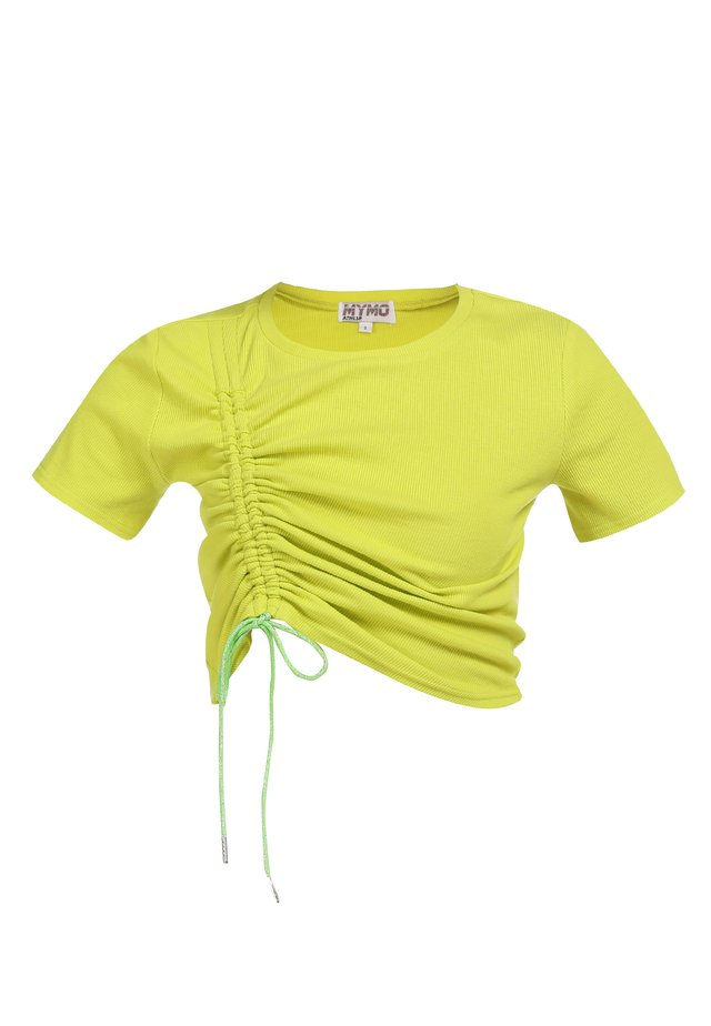T-shirt basic - neon gelb