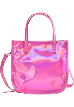 Handväska - pink holo