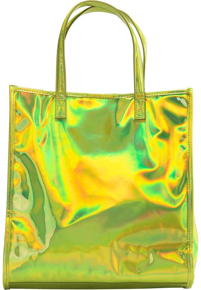 Shopping Bag - grün holo