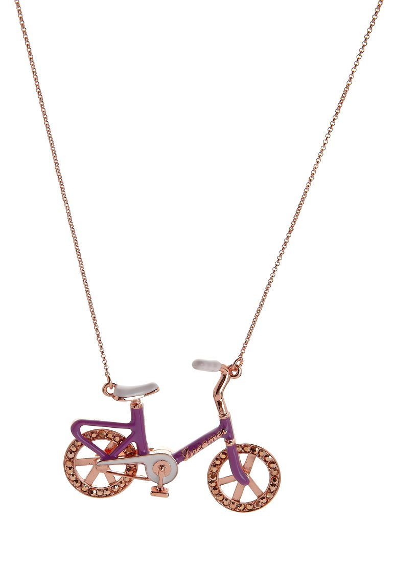Me & Zena - DREAM WHEELZ BIKE - Necklace - copper/purple