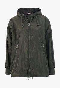 No.1 Como - CESANA - Waterproof jacket - dark green - 3