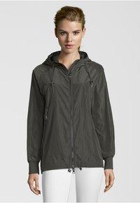 No.1 Como - CESANA - Waterproof jacket - dark green - 0