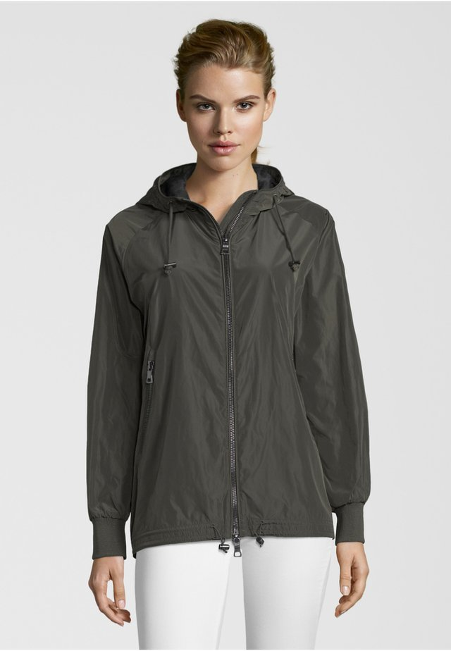 CESANA - Waterproof jacket - dark green