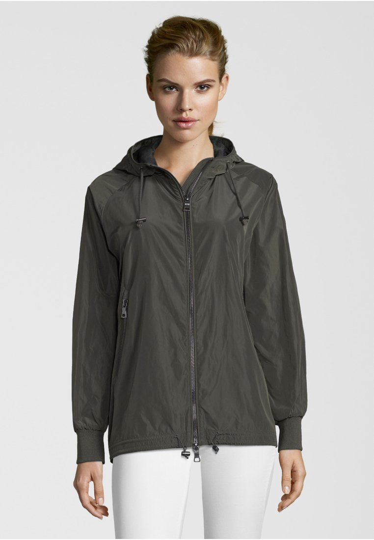 No.1 Como - CESANA - Waterproof jacket - dark green