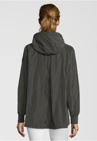 No.1 Como - CESANA - Waterproof jacket - dark green - 1