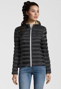 No.1 Como - STEPPJACKE BERGEN - Winter jacket - black - 0