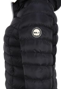 No.1 Como - STEPPJACKE BERGEN - Winter jacket - black - 4