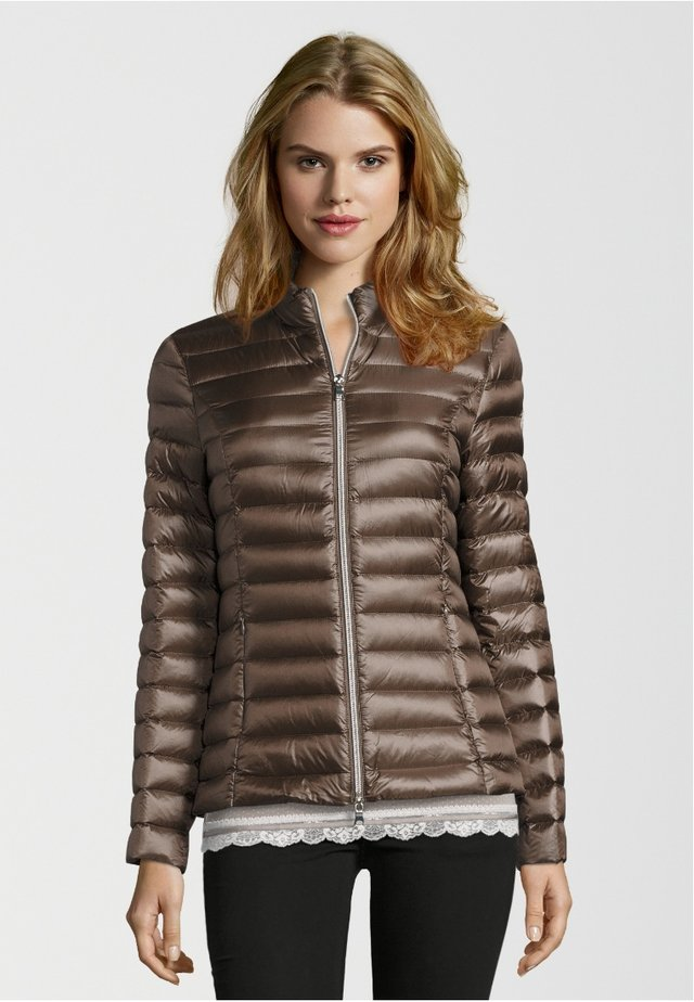 Down jacket - taupe