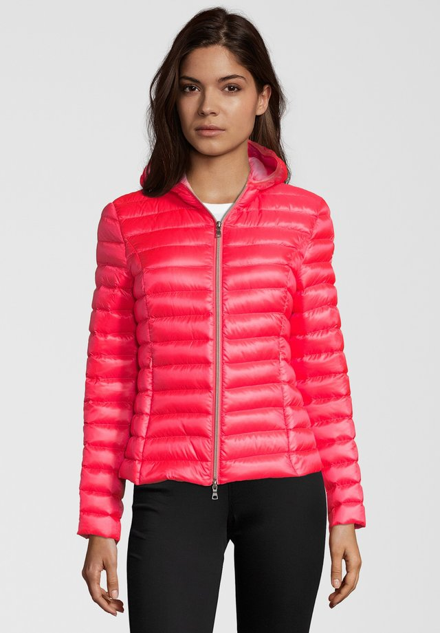 Down jacket - coral