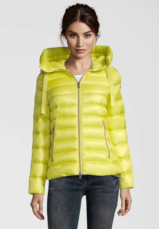 LARA - Down jacket - yellow