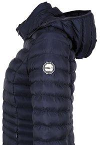 No.1 Como - STEPPMANTEL OSLO - Winter coat - navy - 4
