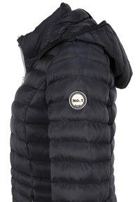 No.1 Como - STEPPMANTEL OSLO - Winter coat - black - 4