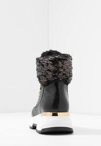Noclaim - MOON - Lace-up ankle boots - nero - 5