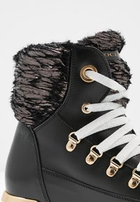 Noclaim - MOON - Lace-up ankle boots - nero - 2