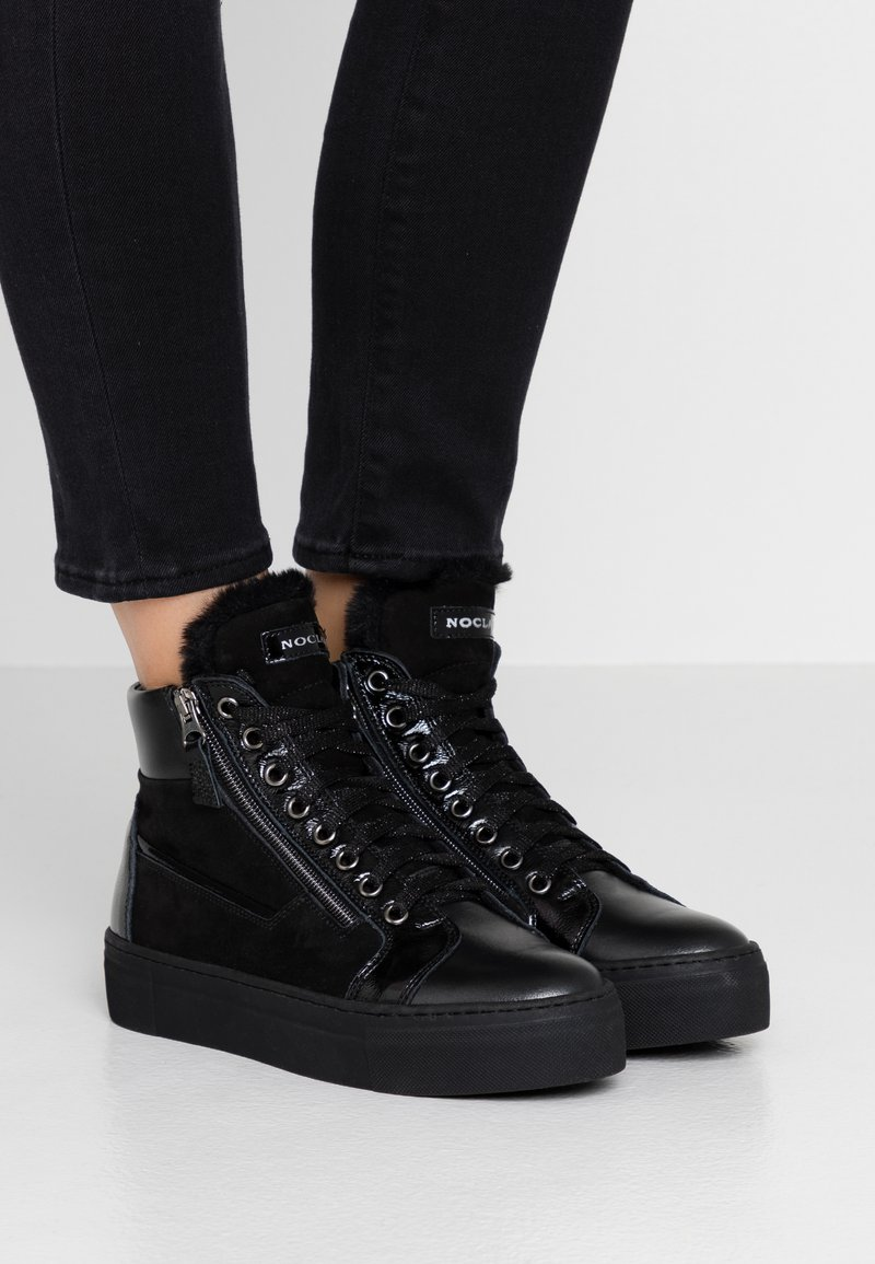 Noclaim - EVA - Sneakers high - nero