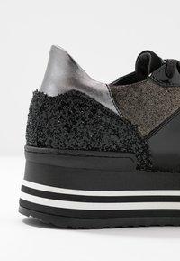 Noclaim - ISA - Sneakers laag - nero/platino - 2