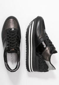 Noclaim - ISA - Sneakers laag - nero/platino - 3
