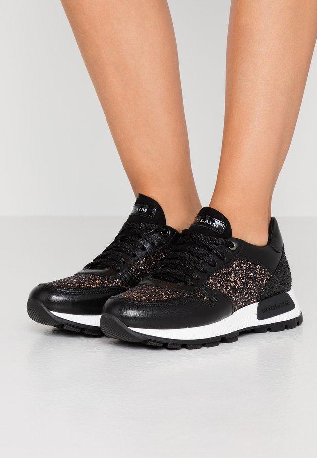 LUDO  - Sneakersy niskie - nero/cipria