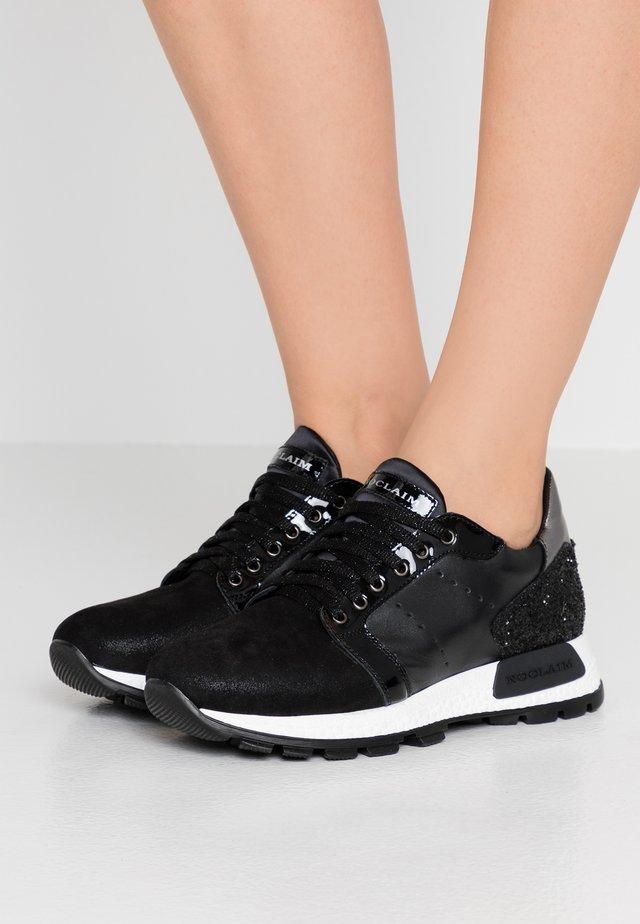 SYBIL - Sneakersy niskie - nero/perlato