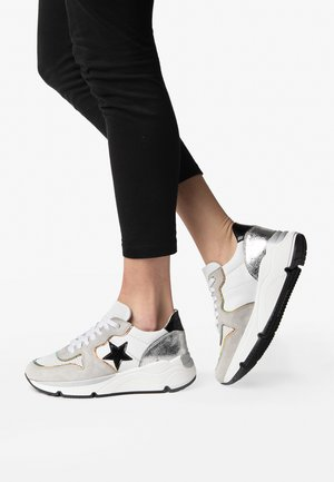 LOGAN - Sneakers laag - white vitrail