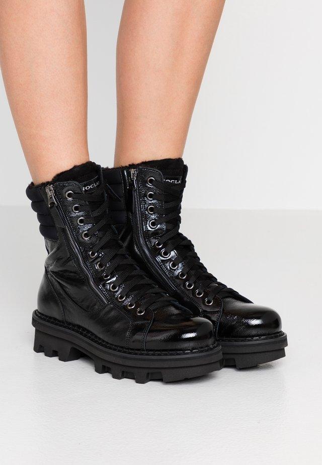 KATE  - Platform ankle boots - nero