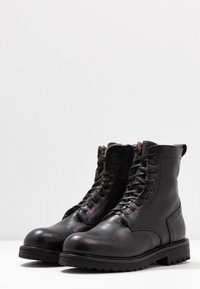Noclaim - Lace-up ankle boots - nero - 4