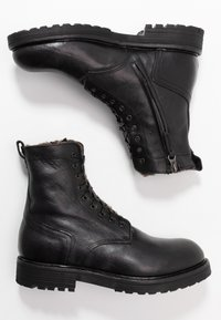 Noclaim - Lace-up ankle boots - nero - 3