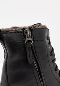 Noclaim - Lace-up ankle boots - nero - 2