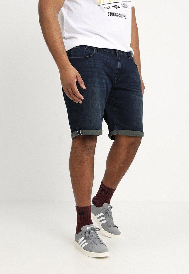 Jeans Shorts - blau