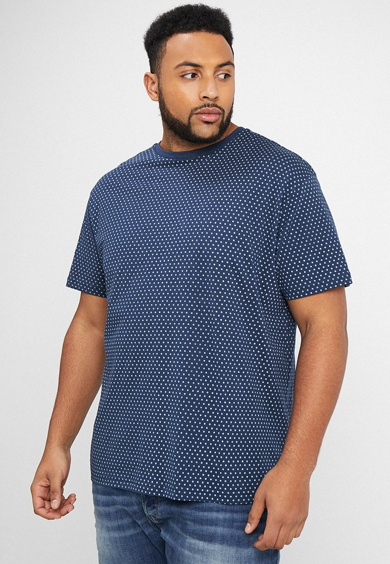North 56°4 - T-shirt z nadrukiem - dunkelblau