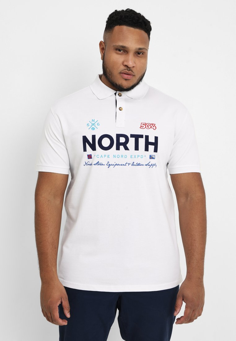 North 56°4 - Polo shirt - weiss
