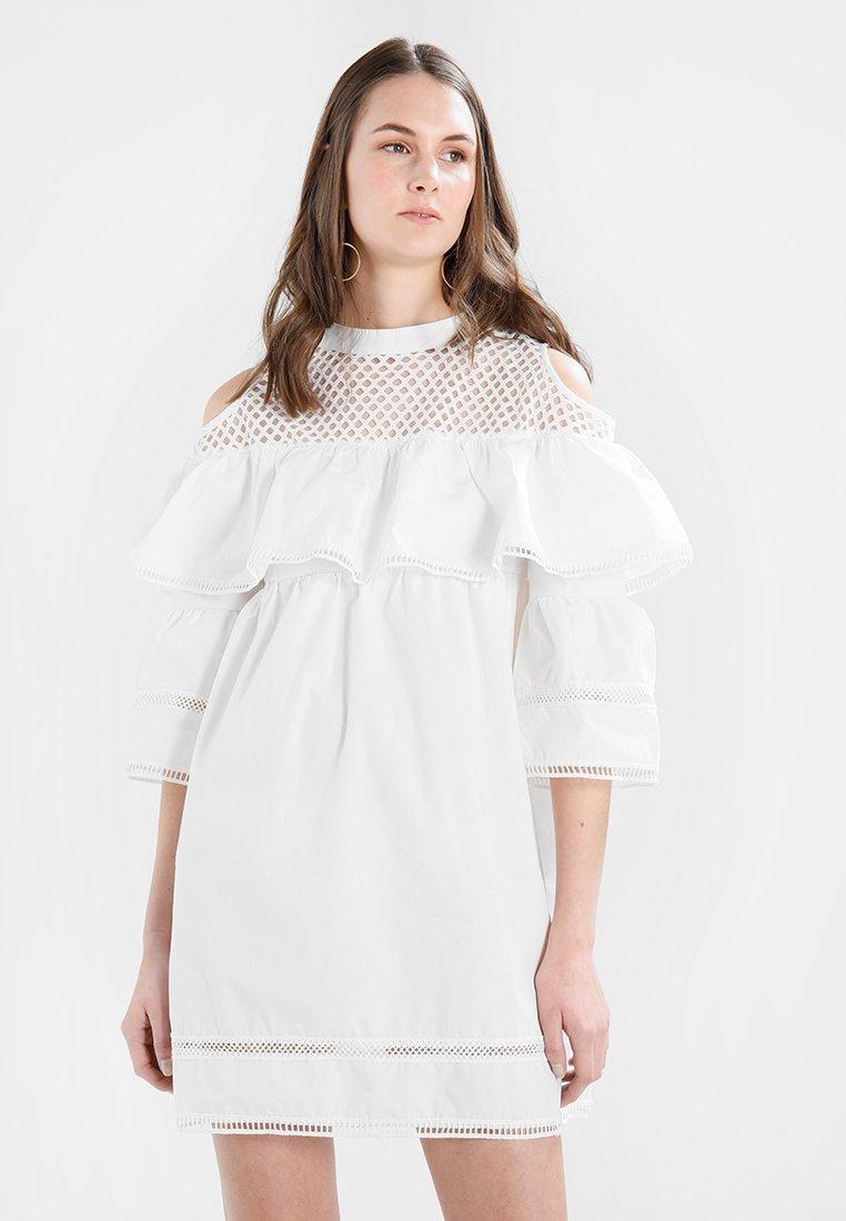 Navy London - DANI - Day dress - white