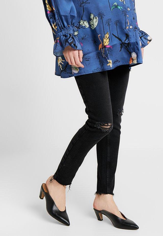 VENICE BLACK KNEE - Jeans Skinny Fit - black