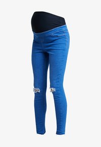 New Look Maternity - KNEE NEW WASH - Jeans Skinny Fit - blue - 4
