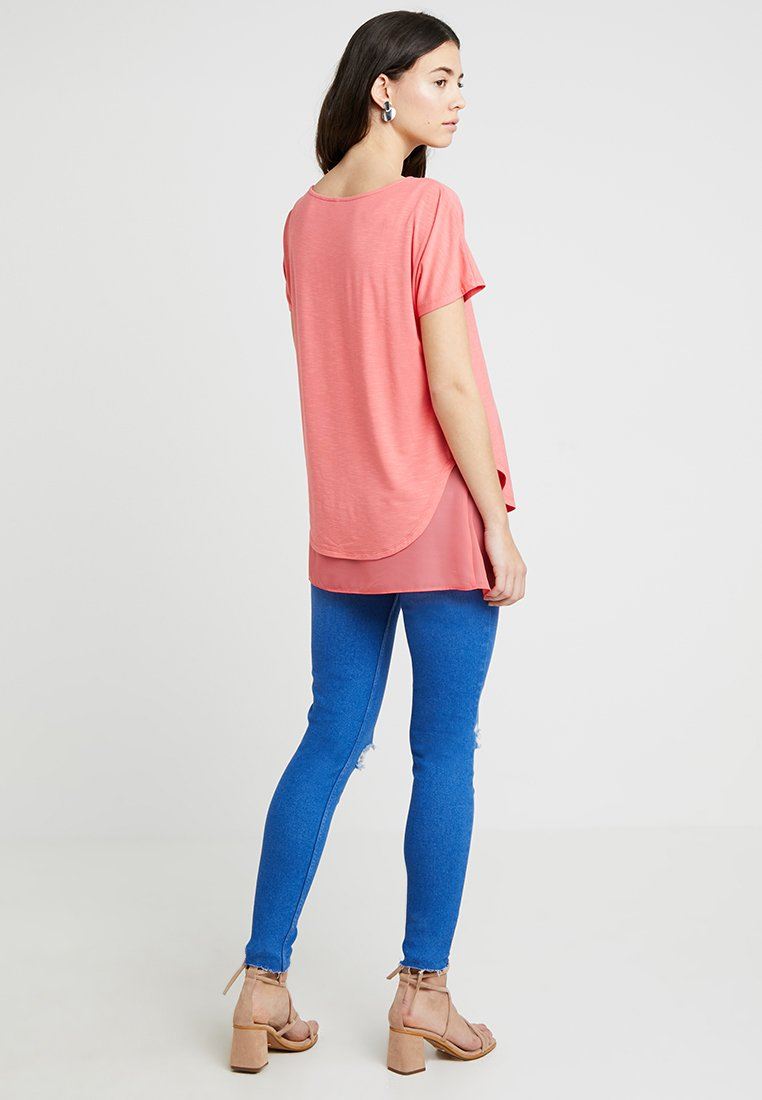 New Look Maternity - KNEE NEW WASH - Jeans Skinny Fit - blue