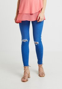 New Look Maternity - KNEE NEW WASH - Jeans Skinny Fit - blue - 2