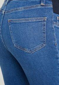 New Look Maternity - HARPER KNEE - Jeans Skinny - mid blue - 5