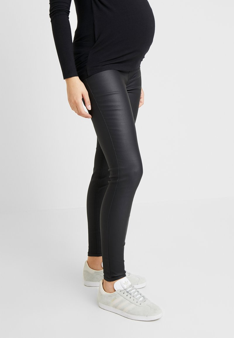 New Look Maternity - Vaqueros slim fit - black