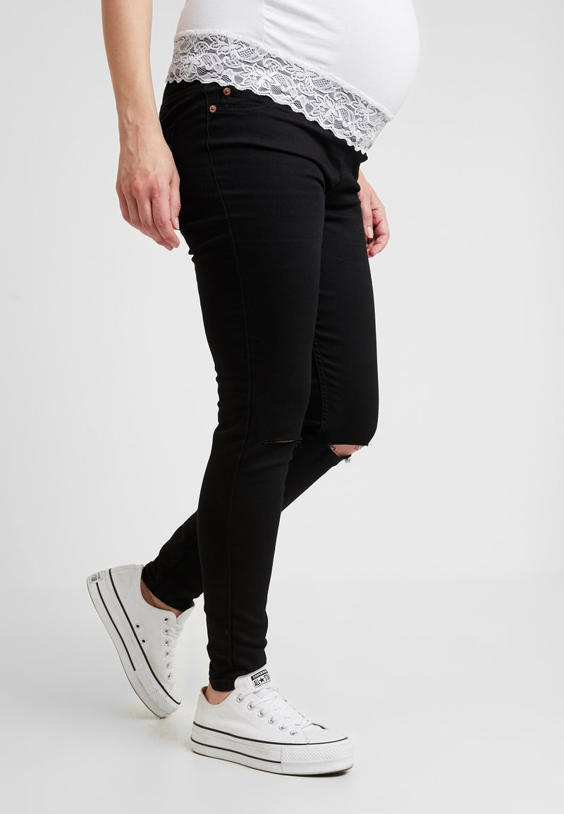 New Look Maternity - JEGGING - Jeggings - black