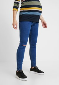 New Look Maternity - Jeans slim fit - mid blue - 0
