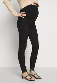 New Look Maternity - SERENA - Vaqueros slim fit - black - 0