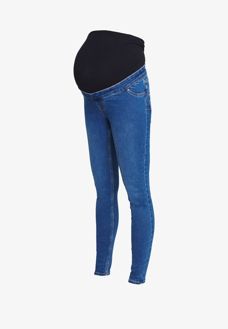 New Look Maternity - Jeans Slim Fit - mid blue