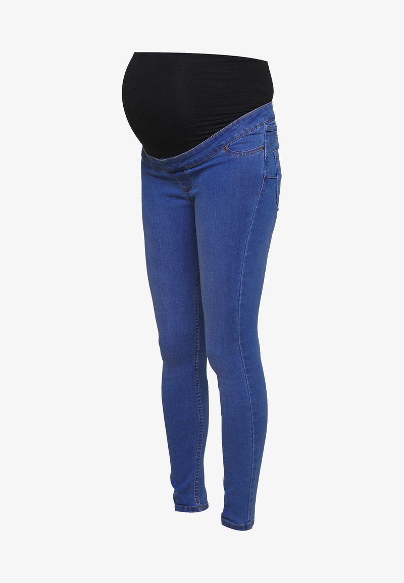 New Look Maternity - BLAIR BRIGHT JEGGING - Jeansy Slim Fit - bright blue